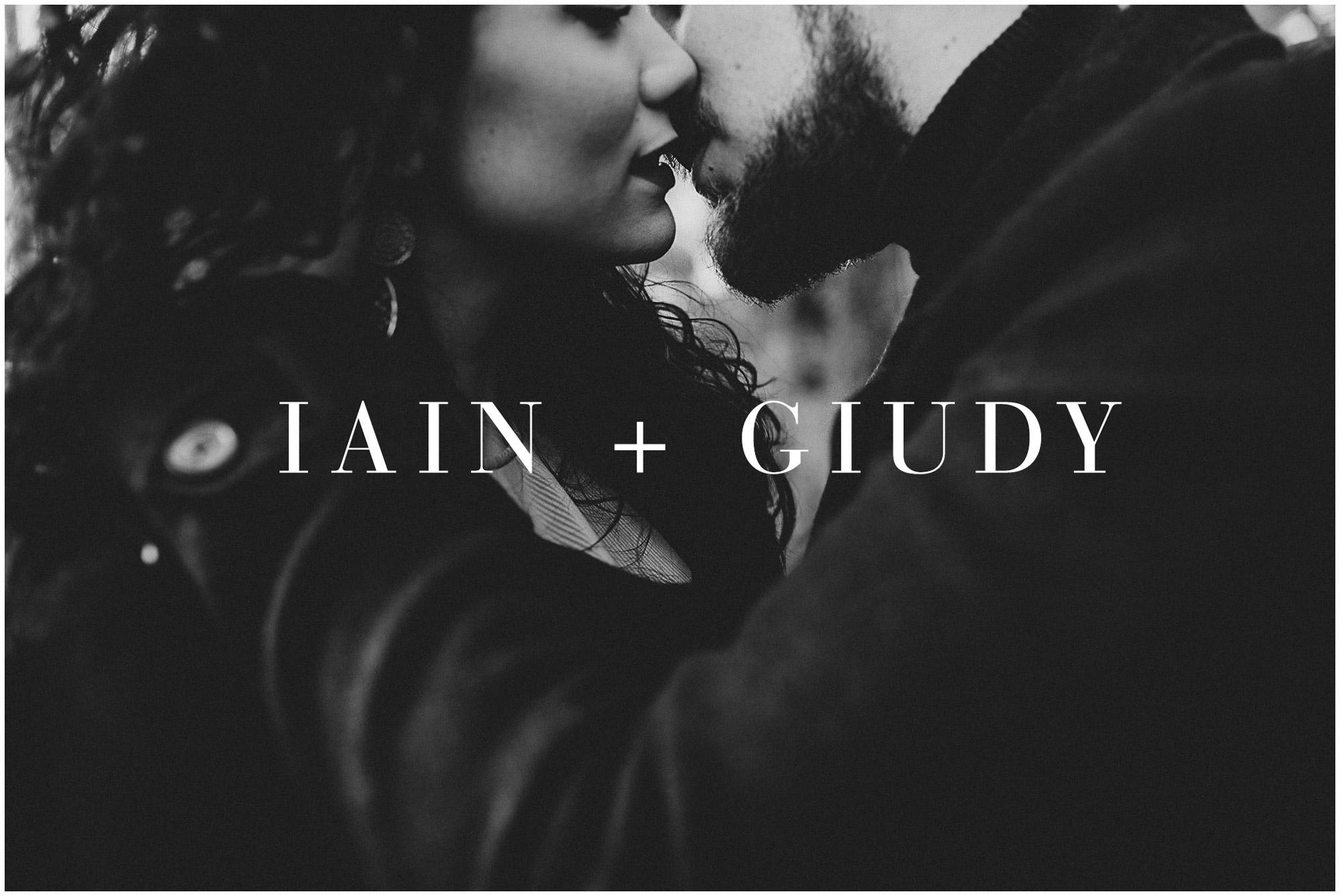Iain + Giuditta